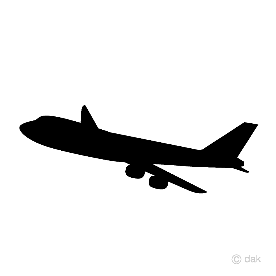 Airplane Silhouette Free Airplane Silhouette Png Transparent Images 43379 Pngio