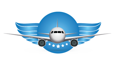 Airplane Air Travel Airliner Logo Vehicl 881365 Png Images Pngio