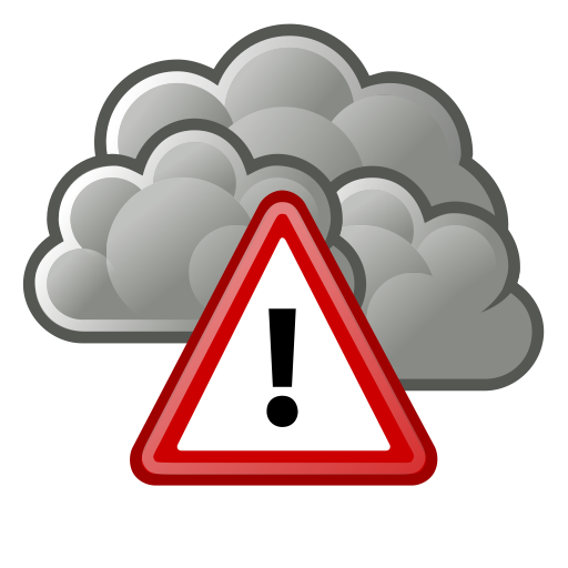 Weather Warning Png - Alert, severe, weather icon