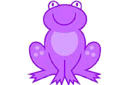 Purple Frog Png - All English lessons and stories