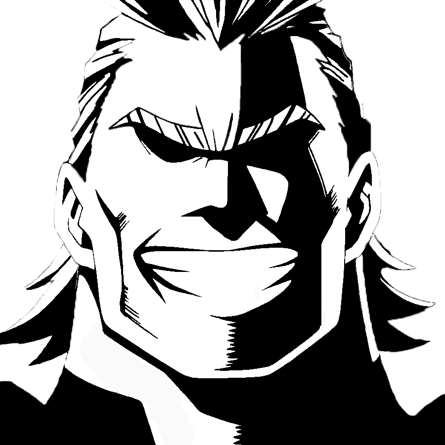 All Might Face Transparent & Free All Might Face ...