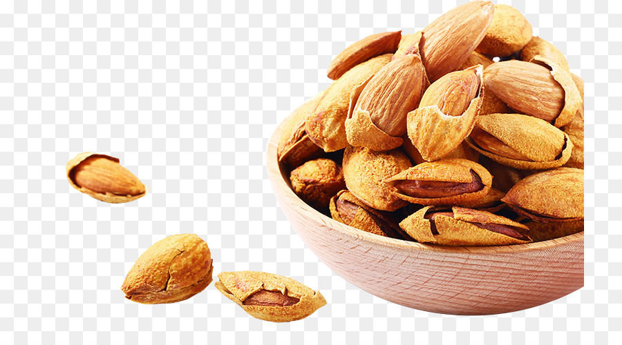 Fruits Nuts Png - Almond Nut Dried fruit Snack - Scattered Almond