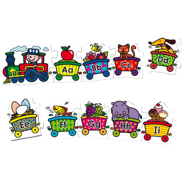 Alphabet Train Png - Alphabet Train Clipart