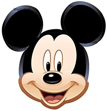 Mickey Mouse Head - Amazon.com: 5 Inch MICKEY MOUSE EARS Head Removable Wall Decal ...