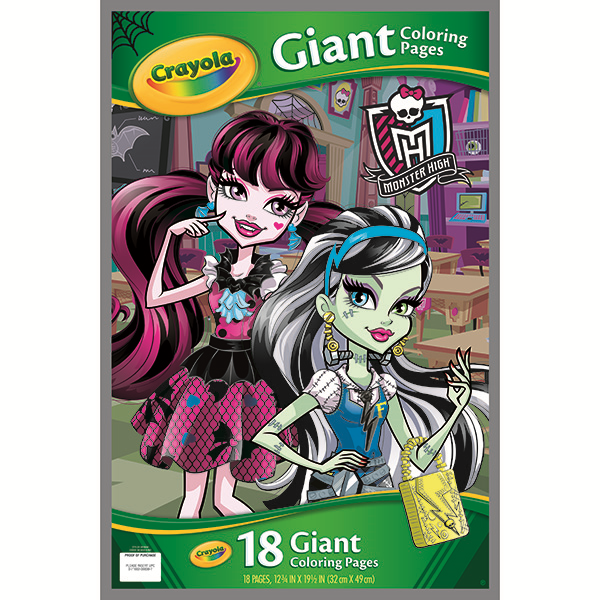 Monster High Coloring Pages Png & Free Monster High Coloring Pages.png  Transparent Images #65054 - PNGio