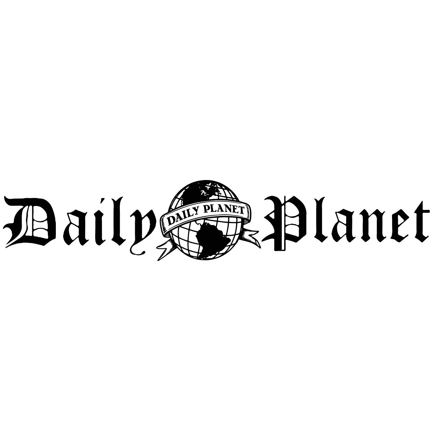 Daily Planet Logo - Amazon.com: Daily Planet Logo - Vinyl Decal Sticker - For wall ...