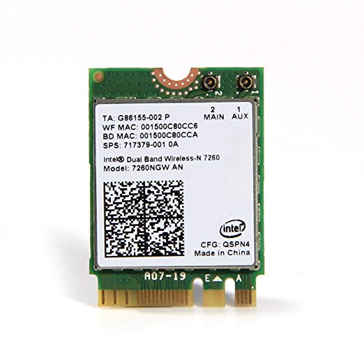 Mac Ospng - Amazon.com: Intel 7260ngw an M.2 (Ngff) Wireless-n Dual Band Card ...