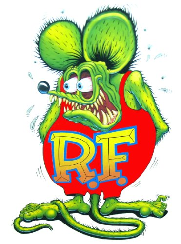 Rat Fink - Amazon.com: Nostalgia Decals Rat Fink Decal from The United States ...