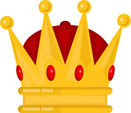 Cartoon Crown Jpg : Illustration about the crown on a red cushion vector.