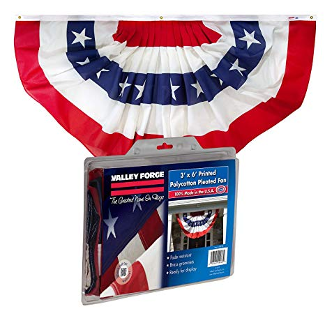 Old Fashioned Patriotic Bunting Png - Amazon.com : Valley Forge, American Flag Bunting Banner, Polyester ...
