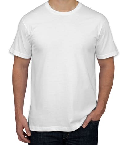 T Shirt Png - American Apparel USA-Made Jersey T-shirt - White