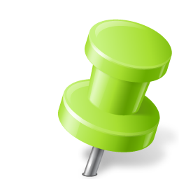 Green Push Pin Png Free Green Push Pin Png Transparent Images Pngio