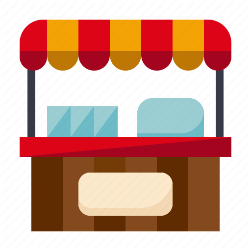Food Stand Png - Amusement, carnival, circus, food stand, parade, stall, stand icon