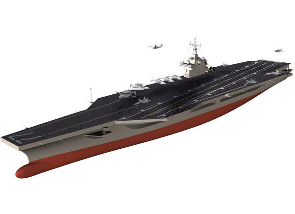 Aircraft Carrier Png - An Artist S Conceptual Drawing Of The U.s. Navy S Newest Aircraft ...