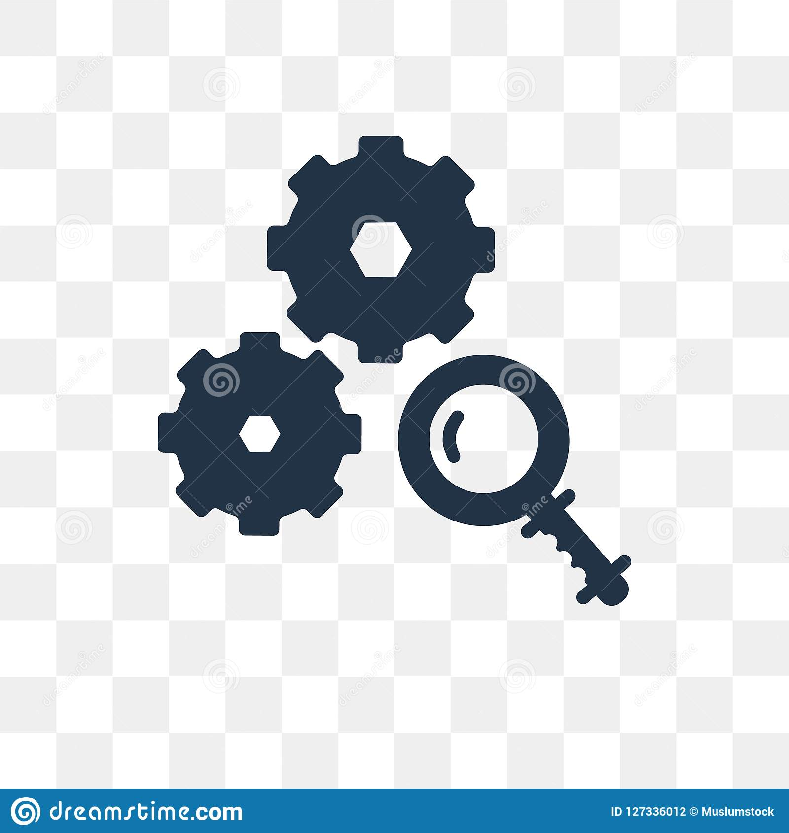 Analyze Png No Background - Analyze Vector Icon Isolated On Transparent Background, Analyze ...