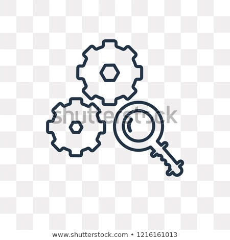 Analyze Png No Background - Analyze Vector Outline Icon Isolated On Stock Vector (Royalty Free ...