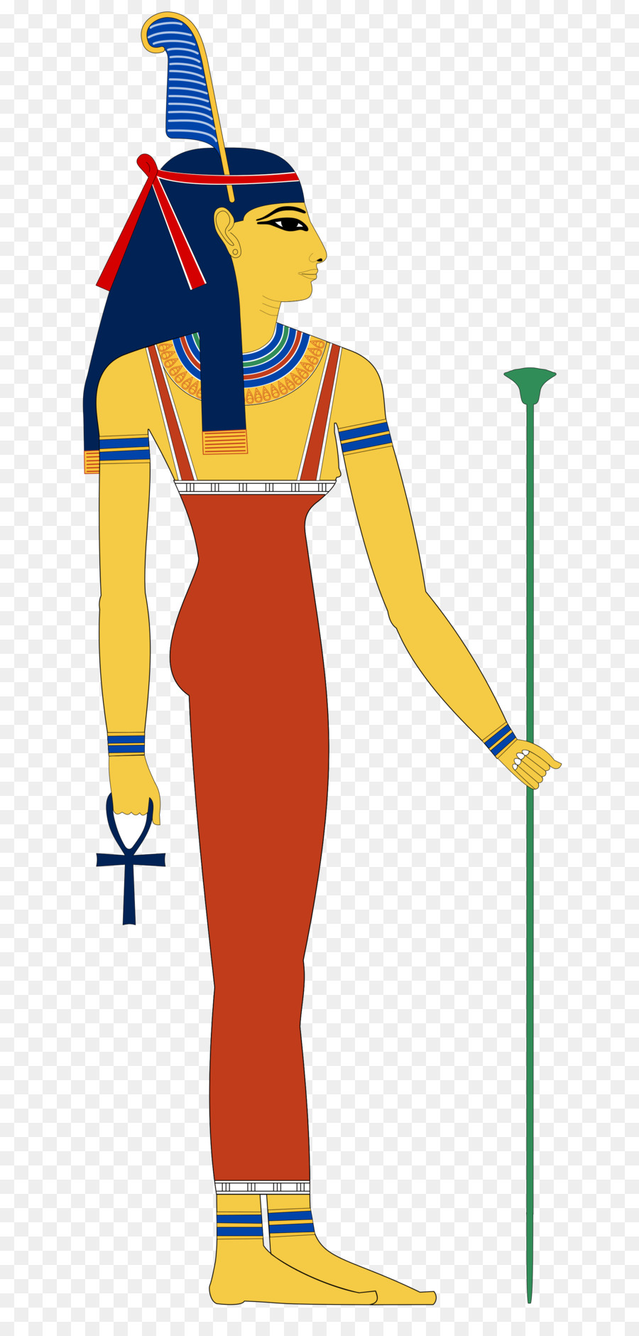 Nephthys Png - Ancient Egypt Standing png download - 2000*4143 - Free Transparent ...