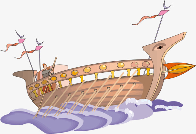 Ancient Wooden Boat Boat Vector Paddle 113700 Png Images Pngio