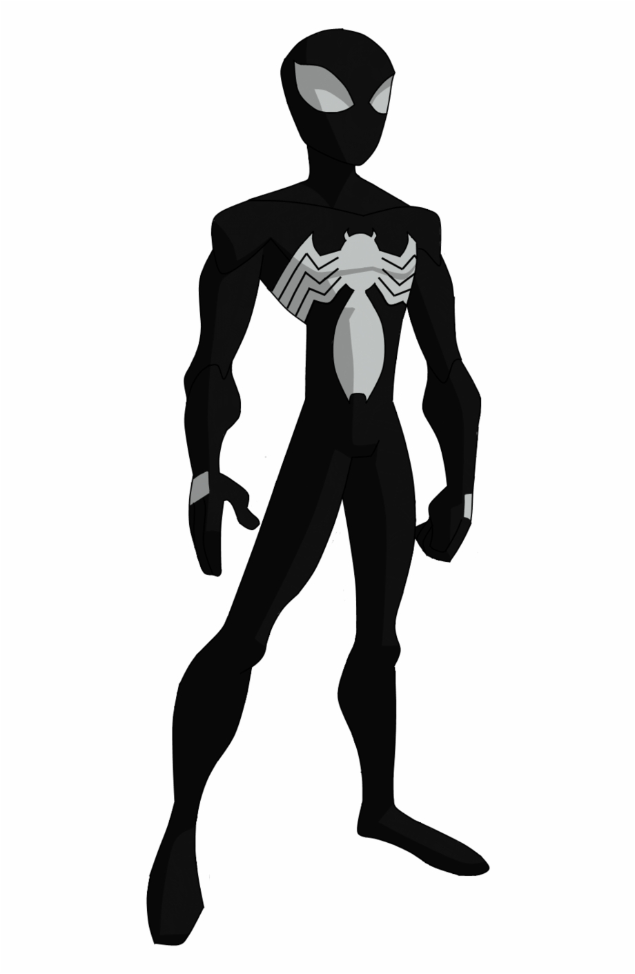 Symbiote Spider Man Png - And For Funnsies Here's Him Kissing The Black Cat - Spectacular ...