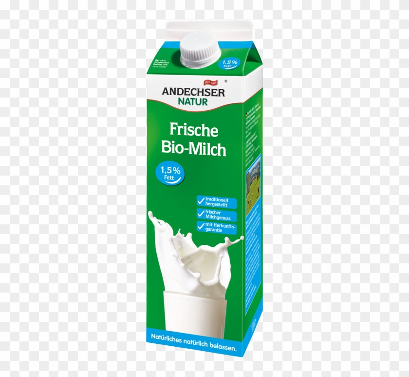 Biomilch Png - Andechser Natur Organic Low-fat Milk - Bio Milch - Free ...