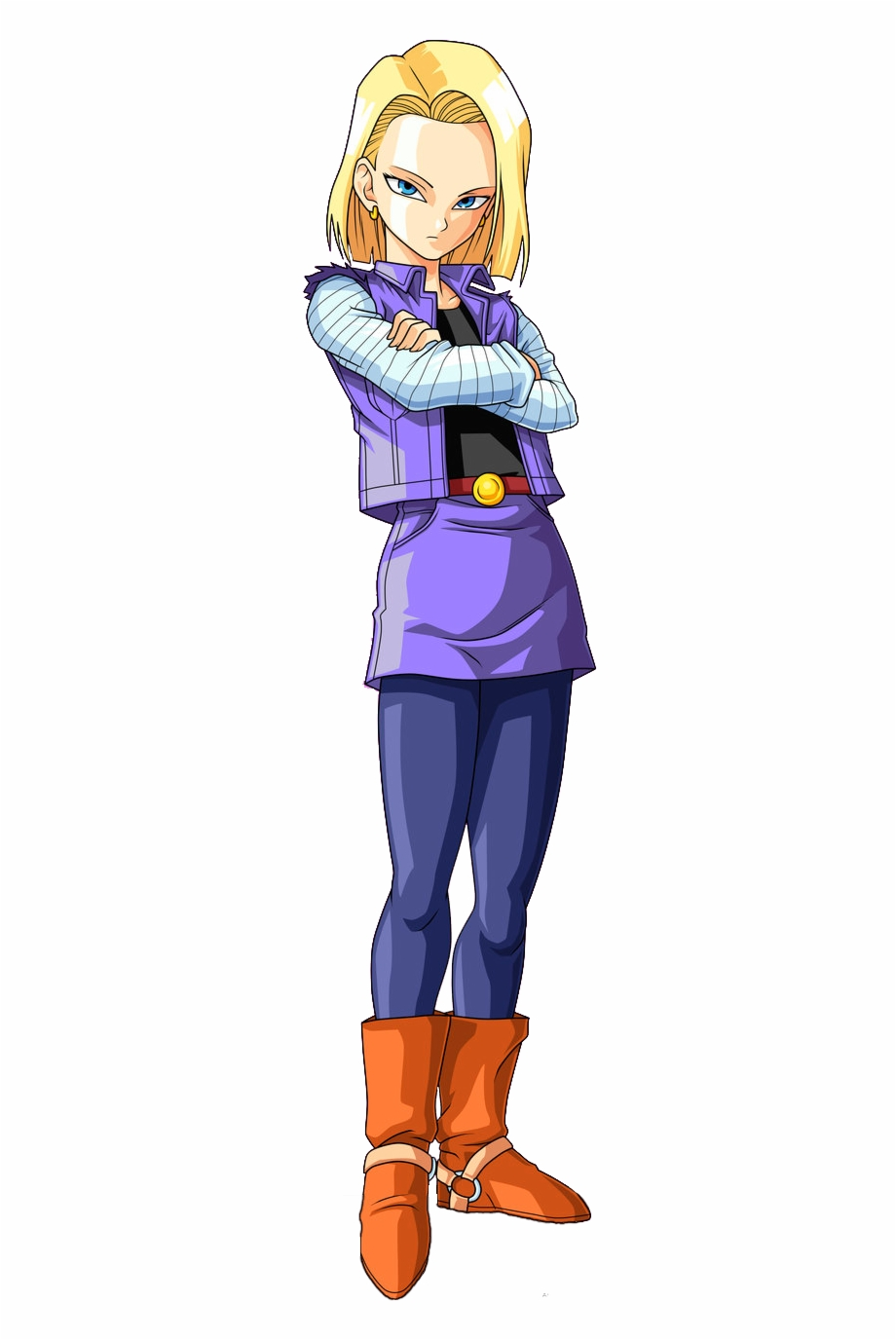 Android 18 Png - Android 18 Png - Android 18 17 Png, Transparent Png Download For ...