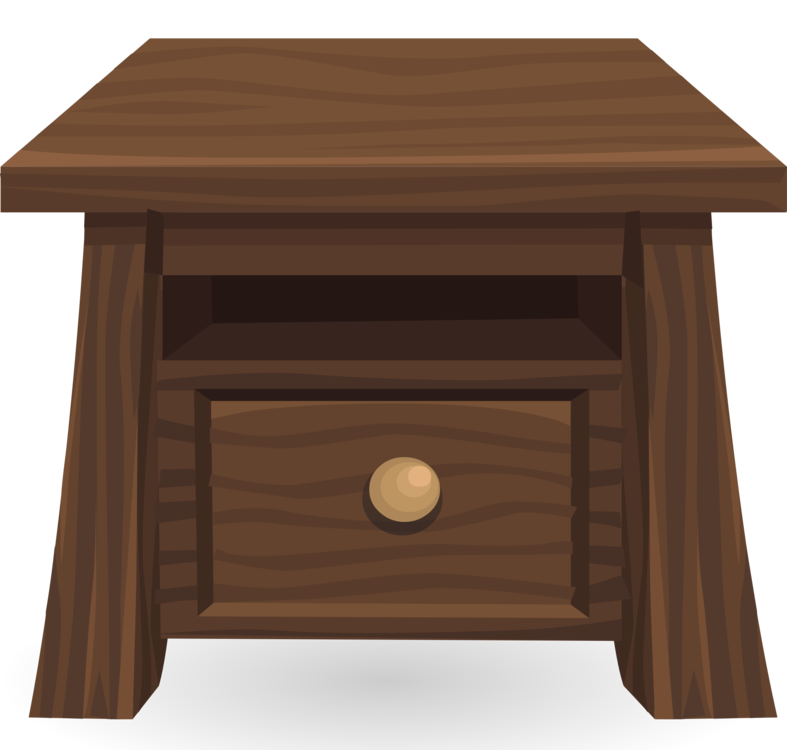 End Table Clipart - Angle,Hardwood,End Table Vector Clipart - Free to modify, share ...