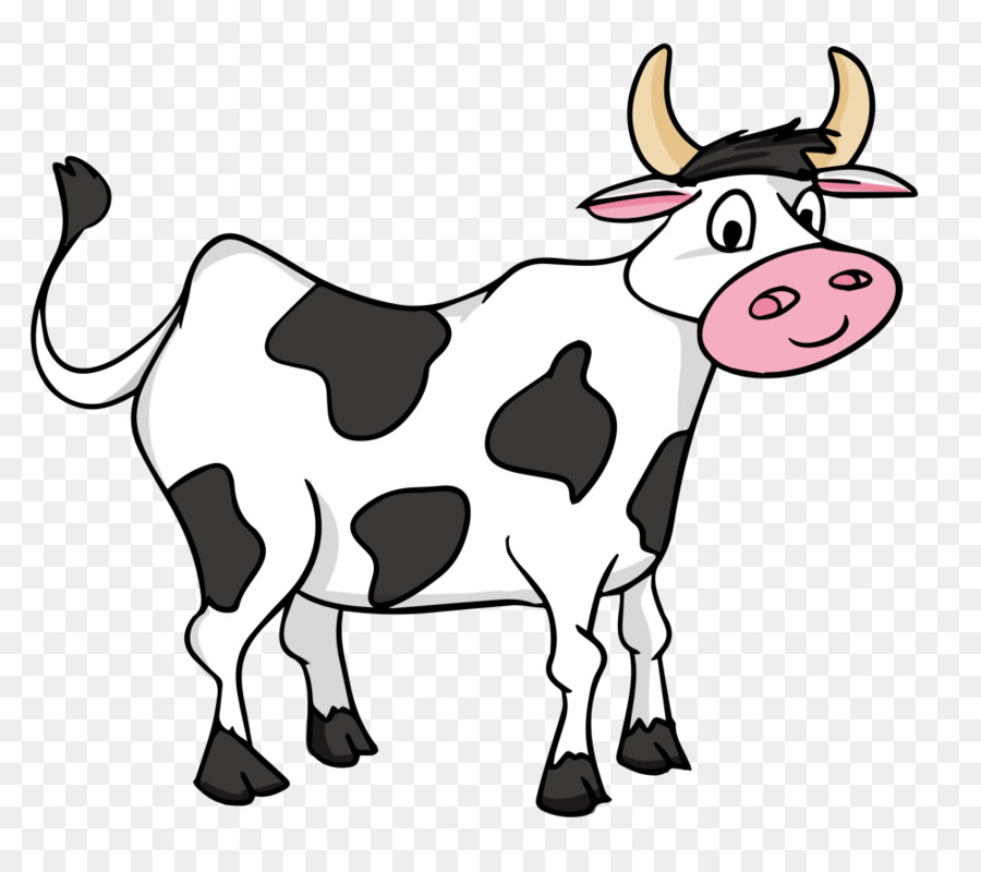 Cartoon Cow Png - animated cows png download - 1000*880 - Free Transparent Cartoon ...
