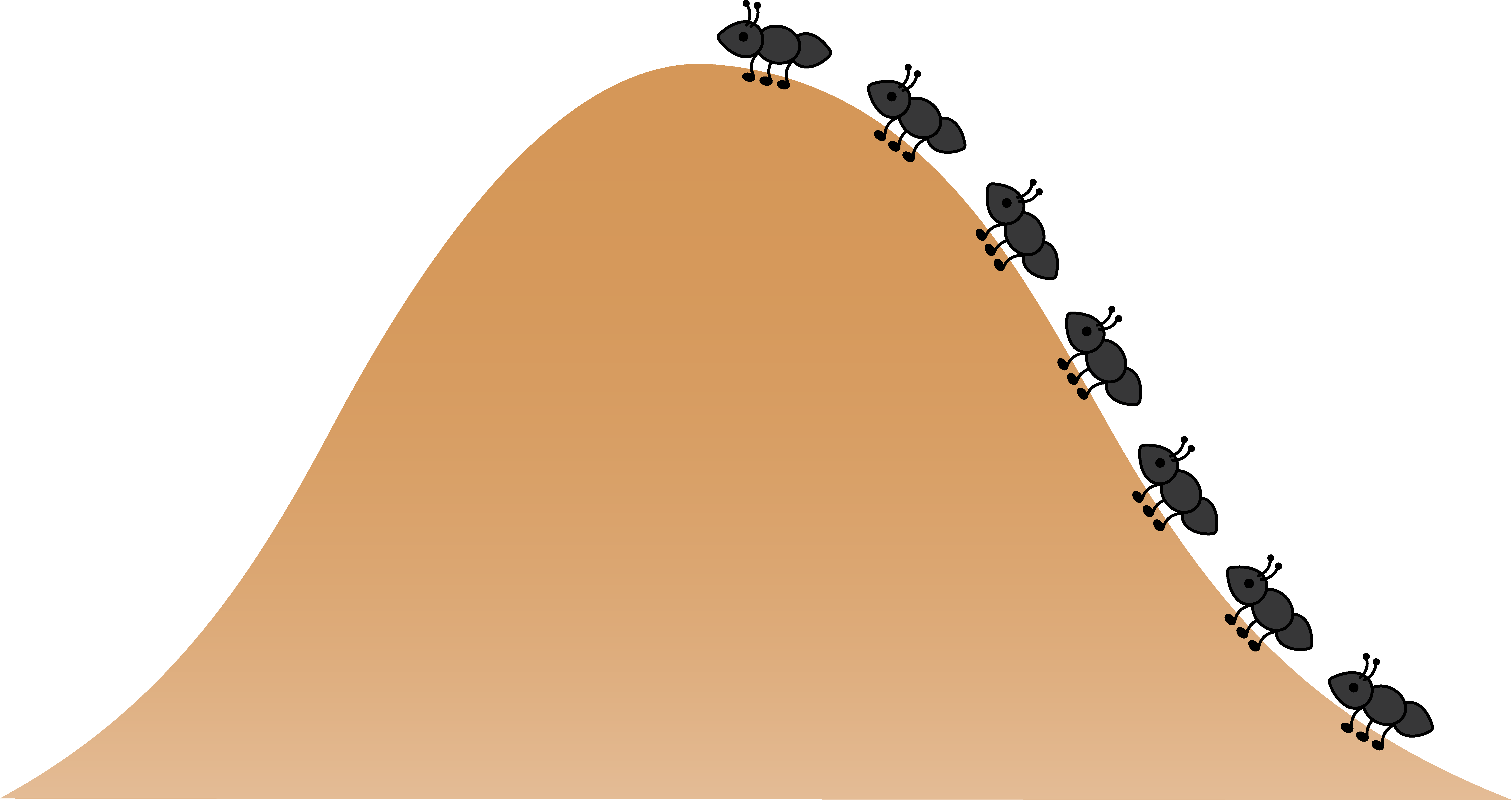 Cartoon Ant Hill Png - Ant Hill Clipart