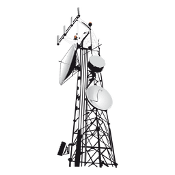 Antenna Tower Flat Icon Transparent Pn Png Images Pngio