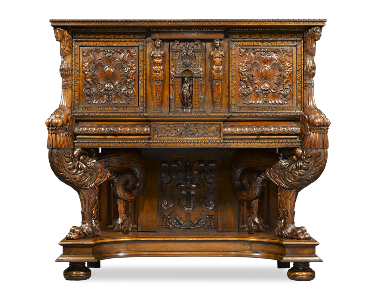 French Renaissance Png - Antique French Dresser/Sideboard; Renaissance-Period; Carved ...