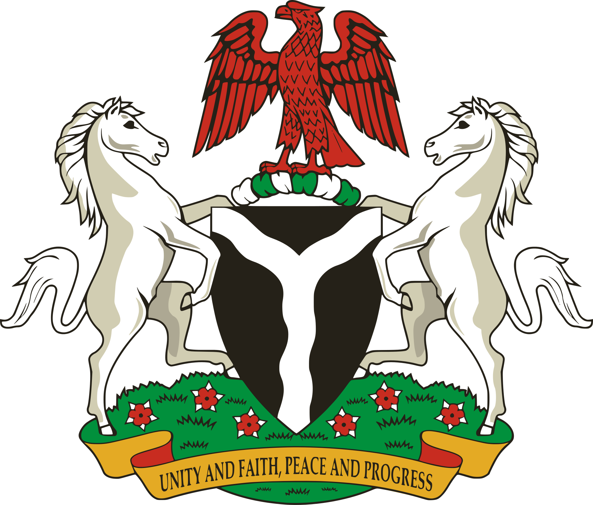 Coat Of Arms Of Nigeria Png Free Coat Of Arms Of Nigeria Png Transparent Images 75587 Pngio