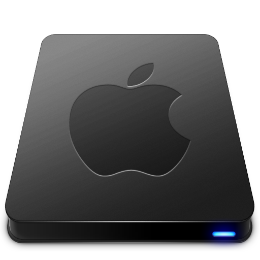 Apple Disk Image Png - Apple Black Icon Free Download as PNG and ICO, Icon Easy