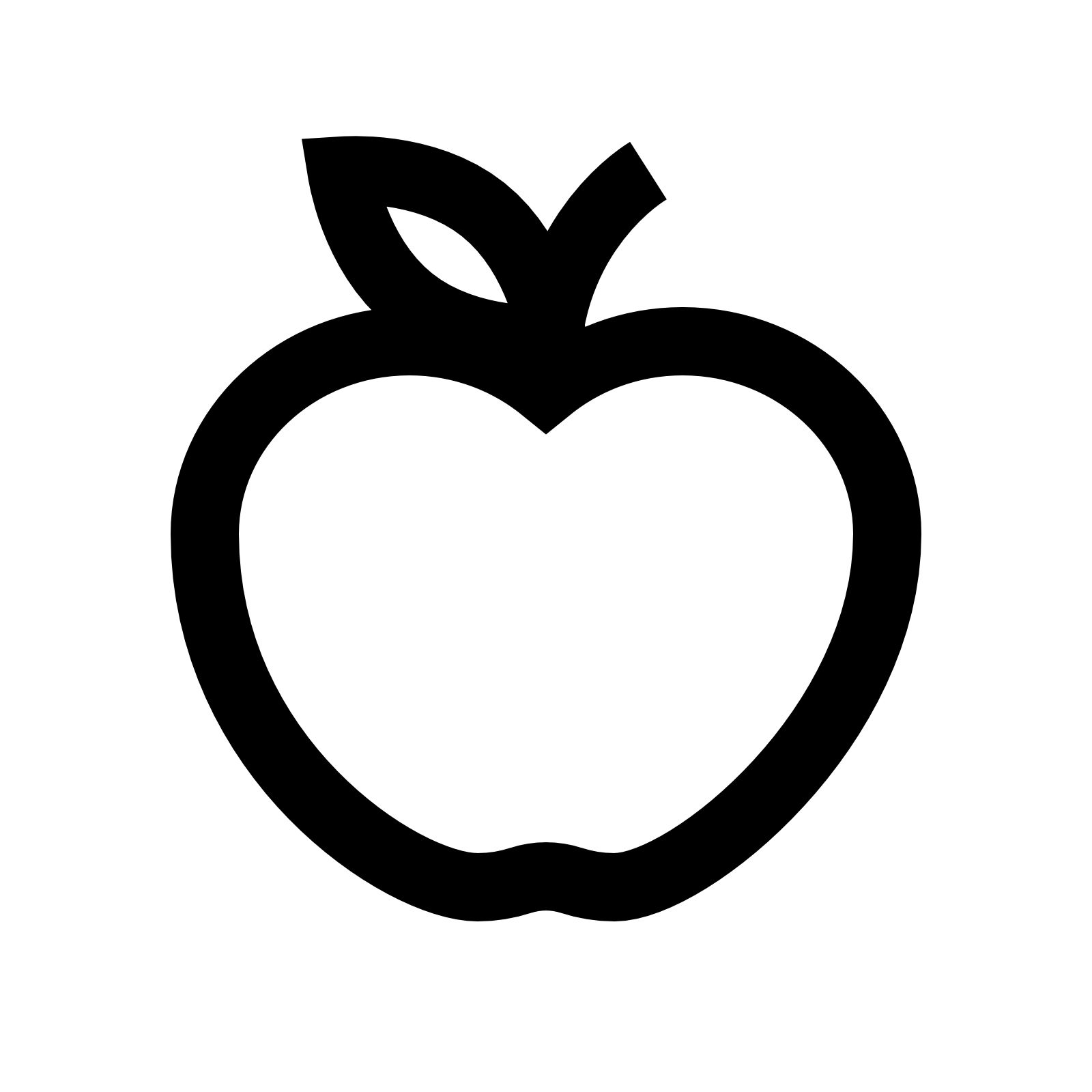 Apple Icon White 25481 Free Icons Lib 1134910 Png Images Pngio