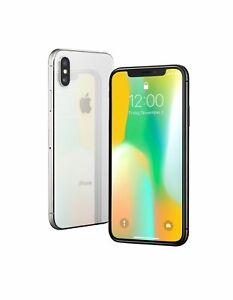 Apple Iphone X  256 Gb  Silver  Unlocked  Gsm Png - Apple iPhone X - 256GB - Silver (GSM Factory Unlocked AT&T Tmobile ...