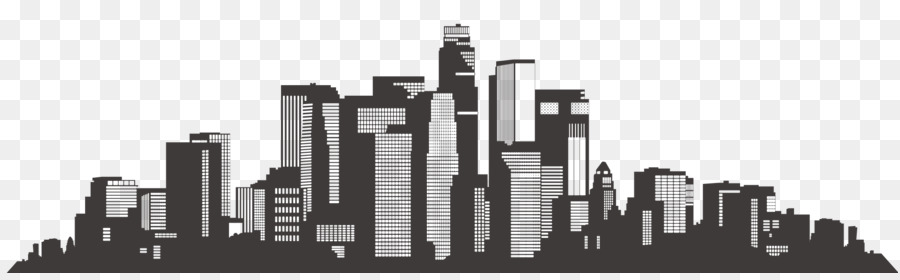 Los Angeles Skyline Png - Architecture banner buildings city silhouette png download - 2047 ...