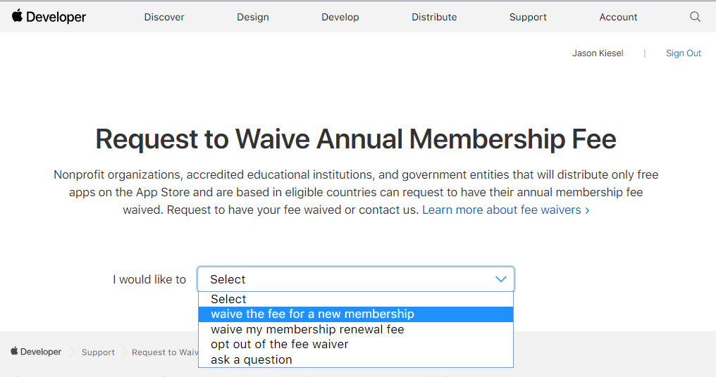 Waived Png - Are we required to pay the annual $99 Apple Developer program fee ...