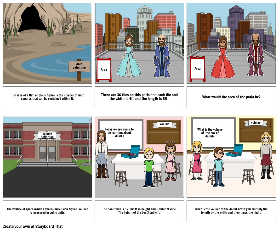 Volume Cubic Units Png - area and volume comic Storyboard by 50d8c794
