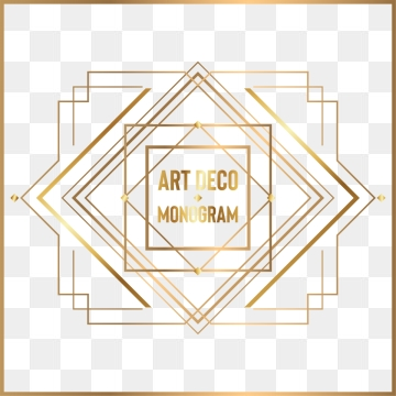 Free Art Deco Png Frames - Art Deco PNG Images | Vector and PSD Files | Free Download on Pngtree