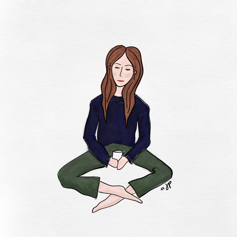 Deep Thoughts Png - Art Therapy | A Self Portrait and a Deep Thought — Jennifer Perron