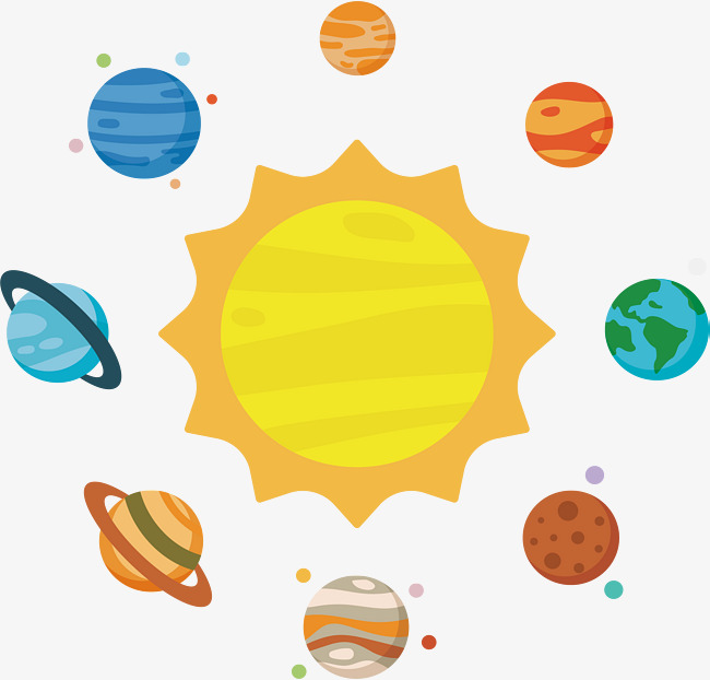 Solar System Png - astronomy solar system, Vector Png, Starry Sky, Fixed Star PNG and Vector