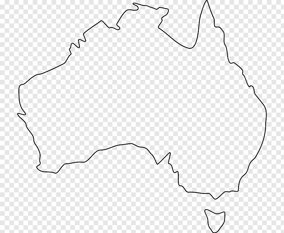 Map Of Australia Png.Australia Map Outline Png Free Australia Map Outline Png