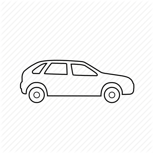 Car Outline Png Png - Automobile, car, sports car, taxi, transport, vacation, vehicle icon