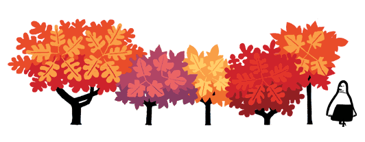 First Day Of Fall Png - Autumn equinox: First day of autumn celebrated in Google Doodle ...