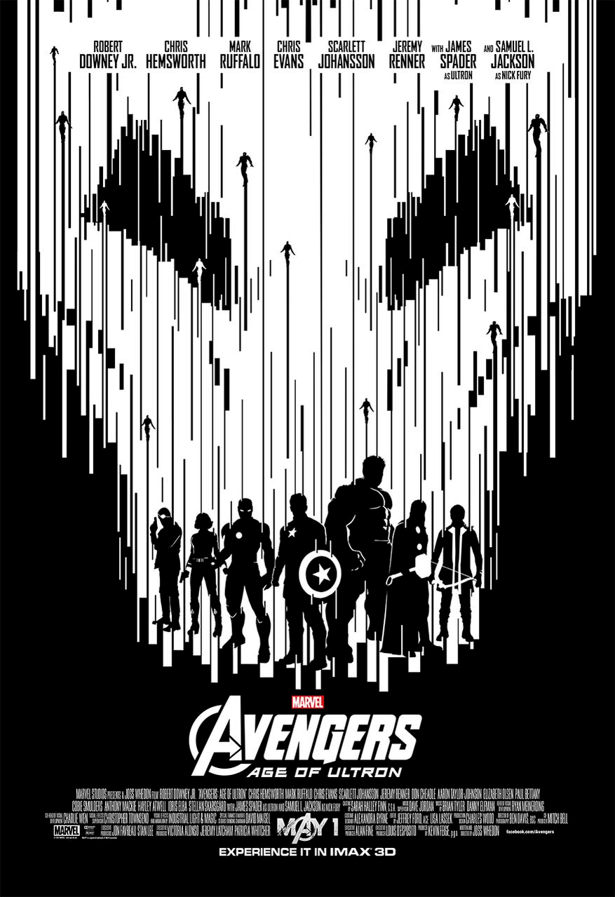 Ultron 4png - Avengers Age of ULTRON IMAX poster 4 - The Spoilist