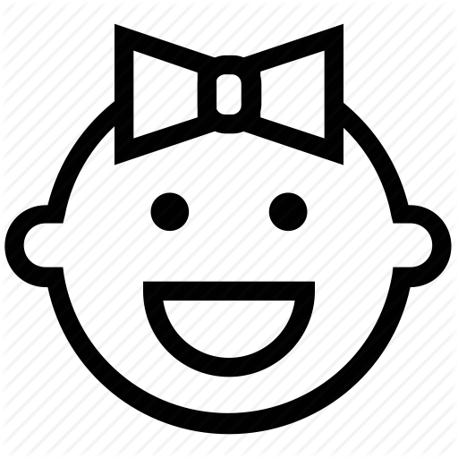 Baby Face Outline Png - Baby Face Icon at GetDrawings | Free download