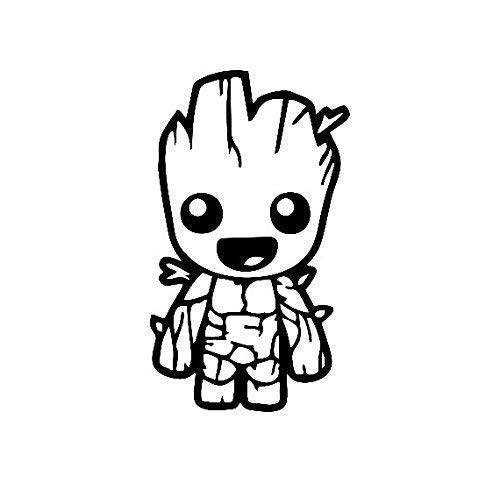 20+ Baby Groot Images Drawing Images