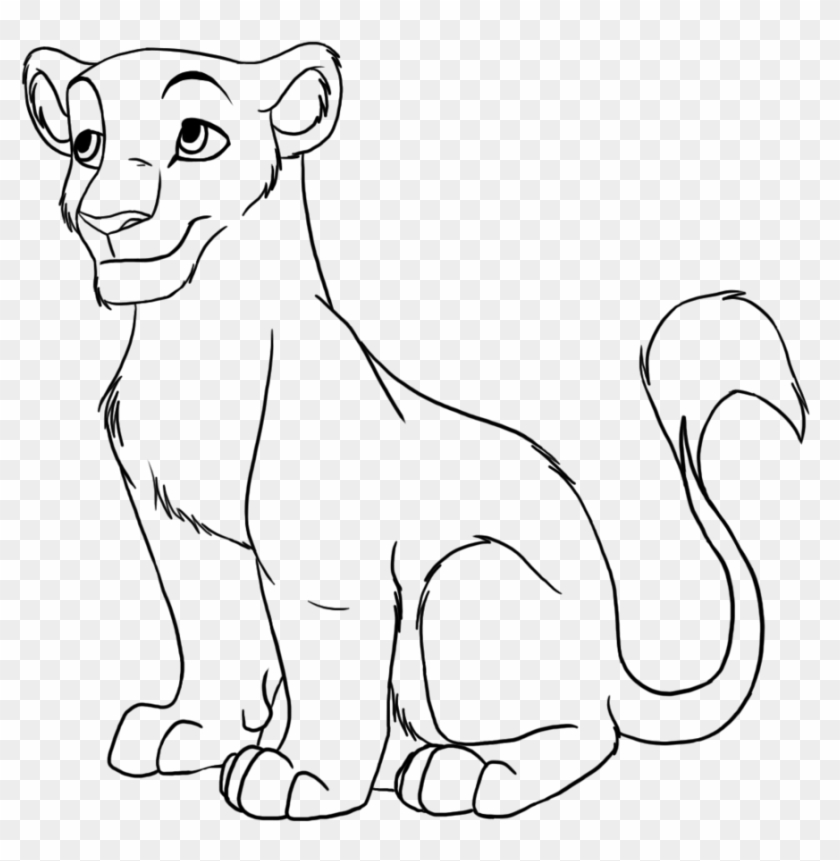 Female Lion Drawings Png - Baby Lion Face Clipart - Female Lion Drawing Cartoon - Png ...