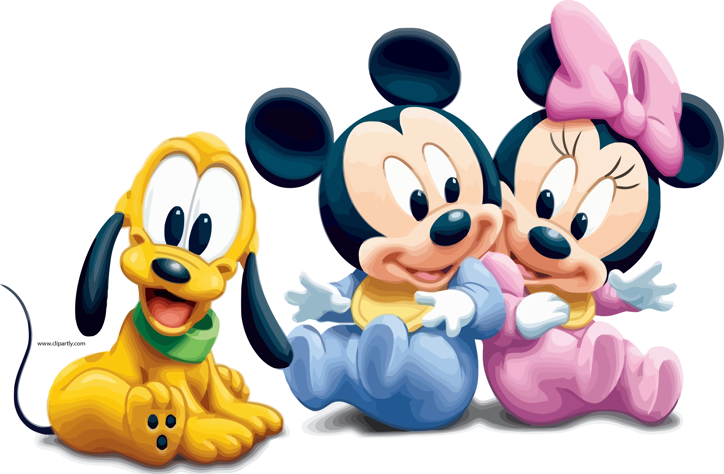 Baby Mickey Mouse Png - Baby Mickey Mouse Pictures Minnie And Dog Wallpapers Dog Clipart ...
