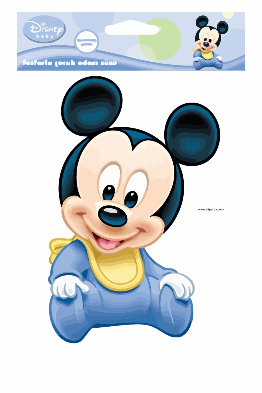 Baby Mickey Mouse Png - Baby Mickey Mouse Pictures Package Design Clipart Png - Baby ...