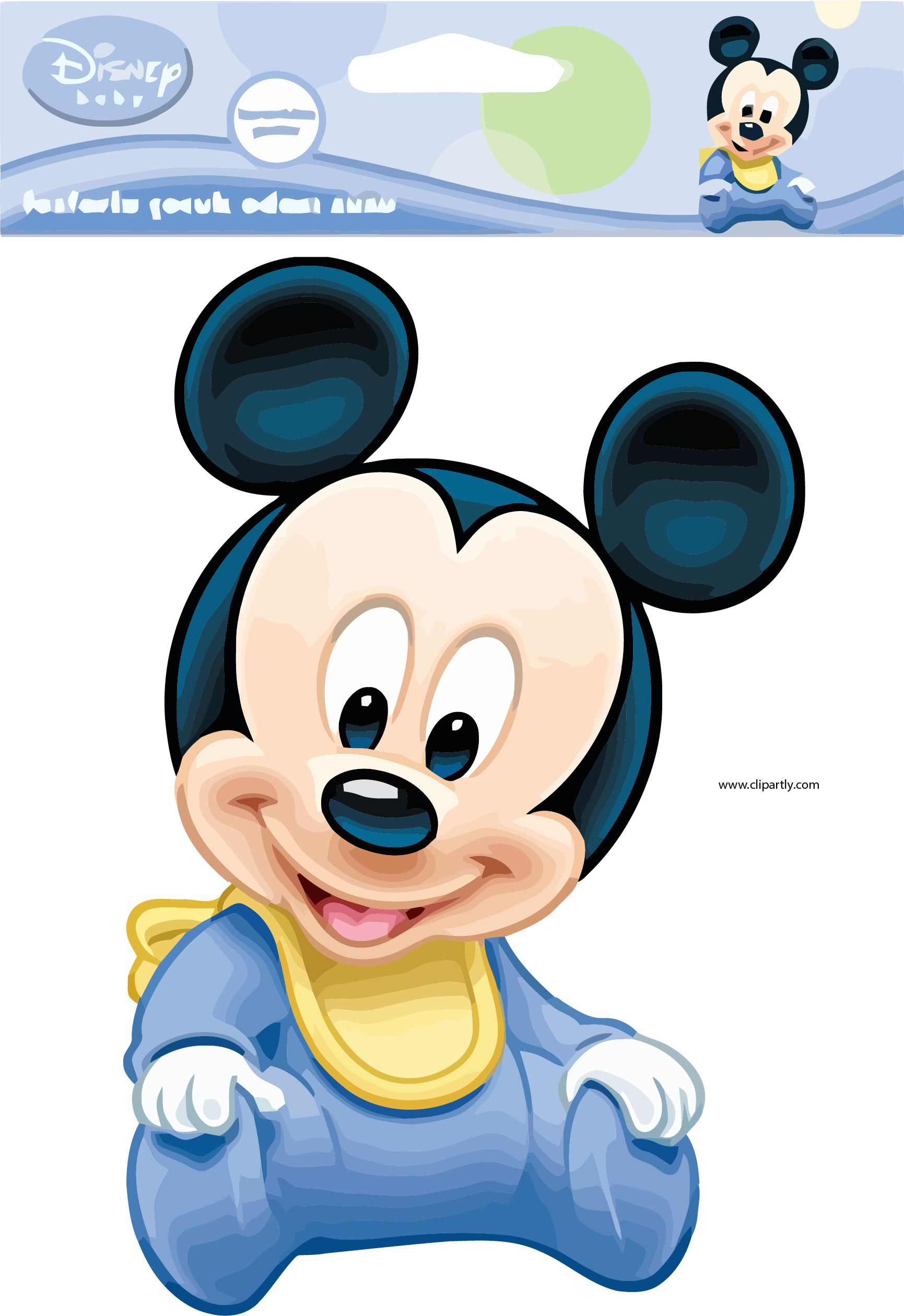 Baby Mickey Mouse Png - Baby Mickey Mouse Pictures Package Design Clipart Png – Clipartly.com